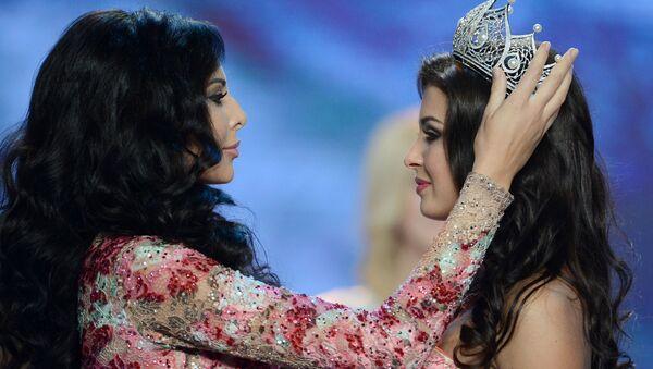 Las finalistas del concurso naiconal Miss Rusia 2015 - Sputnik Mundo