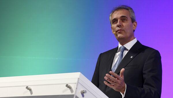 Rainer Seele, el presidente de la Cámara de Comercio Exterior Alemano-Rusa AHK - Sputnik Mundo