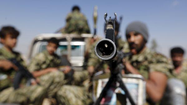 Rebeldes hutíes en Saná, capital yemení (archivo) - Sputnik Mundo