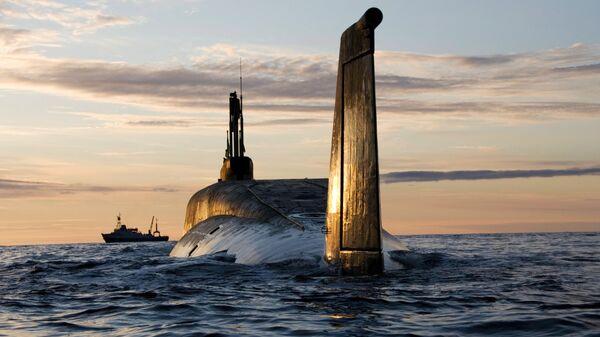 Yuri Dolgoruki, submarino nuclear de clase Borei (archivo) - Sputnik Mundo
