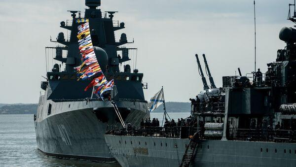 Fragata Almirante Gorshkov - Sputnik Mundo