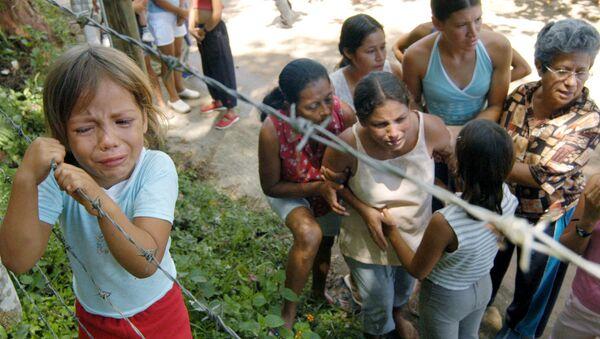 Víctmas de la violencia de las FARC en Colombia - Sputnik Mundo