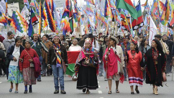 Indígenas de Argentina - Sputnik Mundo