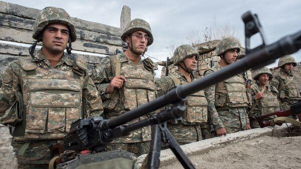 Militares de Nagorno Karabaj - Sputnik Mundo