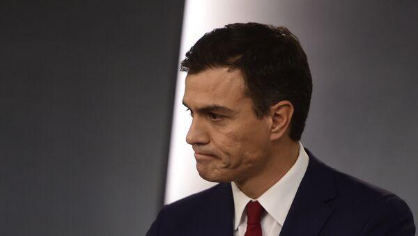 Pedro Sánchez, presidente en funciones de España (archivo) - Sputnik Mundo