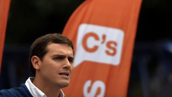 Albert Rivera, líder del partido Ciudadanos - Sputnik Mundo