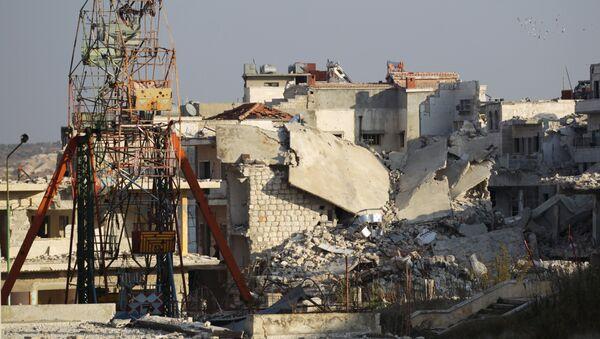 Parque de atracciones destruido en Idlib, Siria - Sputnik Mundo