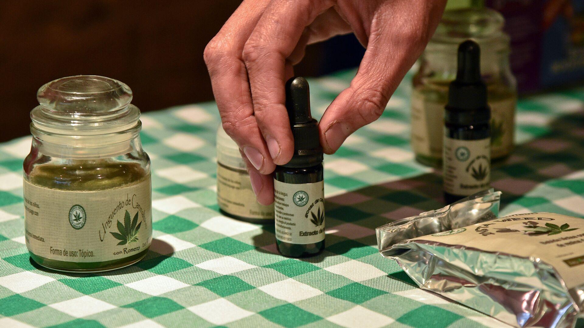 Productos del cannabis a medida para uso terapéutico - Sputnik Mundo, 1920, 14.10.2021
