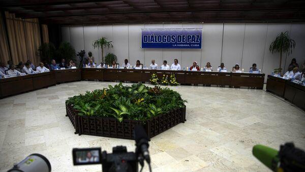 Diálogos de paz en la Habana - Sputnik Mundo