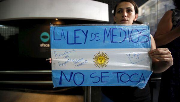 Organizaciones de Argentina acuden ante CIDH para defender ley de medios - Sputnik Mundo
