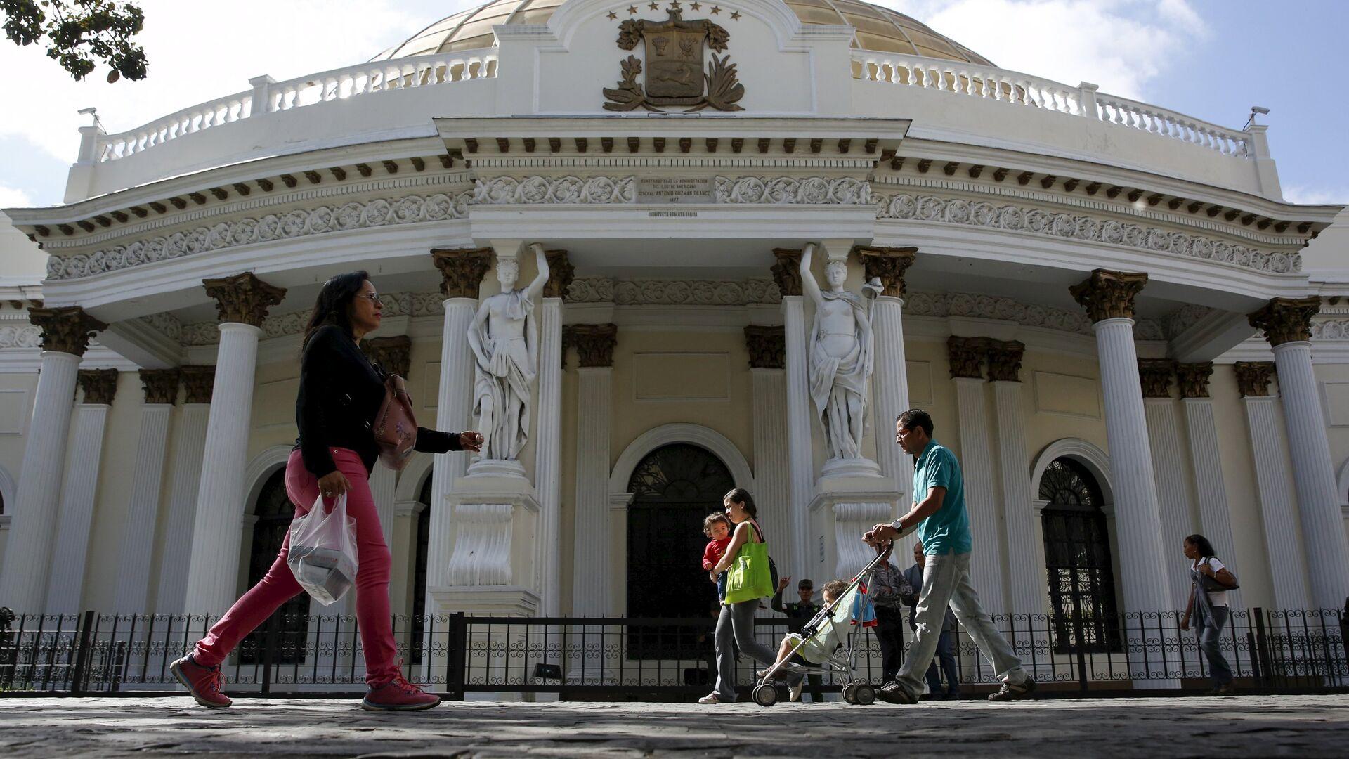 Parlamento de Venezuela - Sputnik Mundo, 1920, 02.09.2021