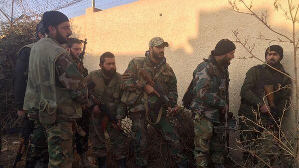 Soldados del Ejército sirio - Sputnik Mundo