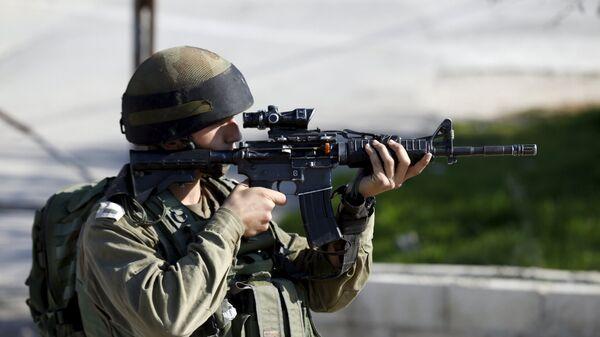 Soldado israelí - Sputnik Mundo