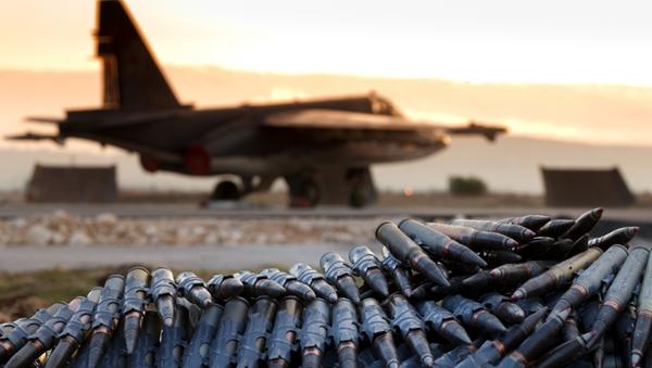 Base aérea de Hmeymim en Siria - Sputnik Mundo