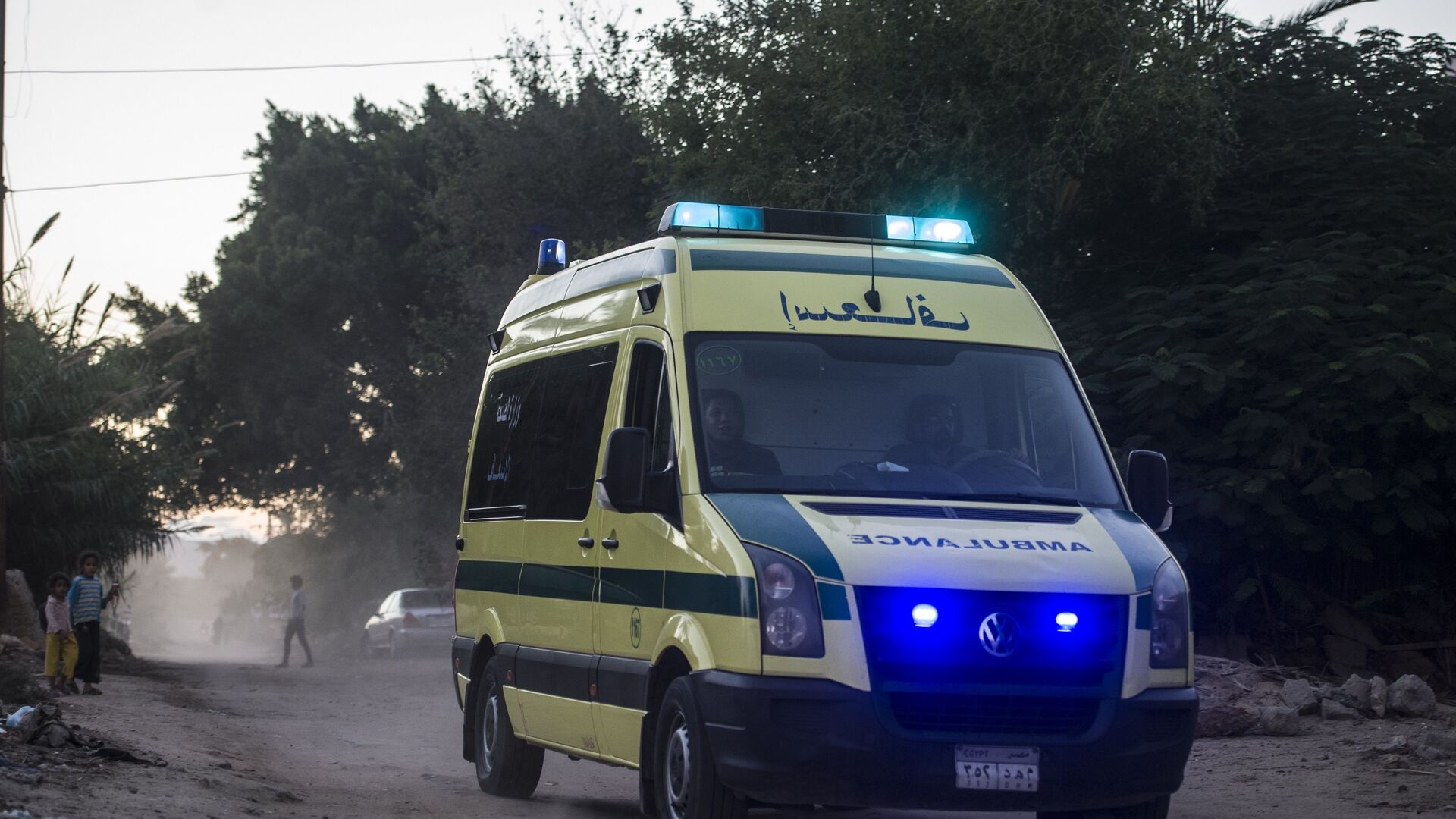 Ambulancia en Egipto - Sputnik Mundo, 1920, 05.03.2021
