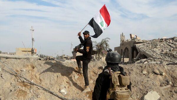 Unidades antiterroristas en la ciudad de Ramadi en Anbar - Sputnik Mundo
