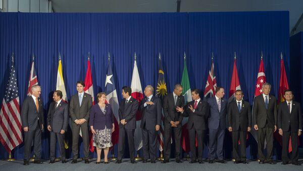 Líderes de los Estados miembros de la Asociación Transpacífica - Sputnik Mundo