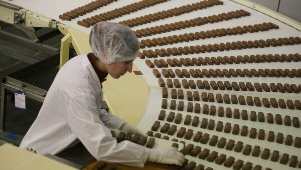 Fábrica de chocolate en Rusia - Sputnik Mundo