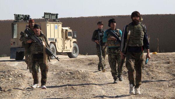 Soldados de las fuerzas especiales de Afganistán - Sputnik Mundo