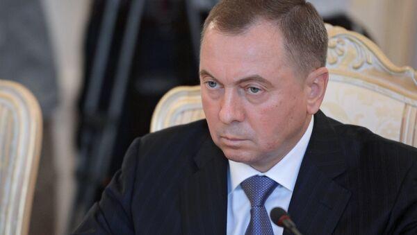 Ministro de Exteriores de Bielorrusia, Vladímir Makéi - Sputnik Mundo