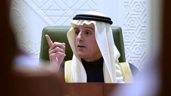 Adel al Jubeir, canciller de Arabia Saudí - Sputnik Mundo