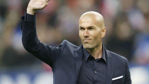 Zinedine Zidane - Sputnik Mundo