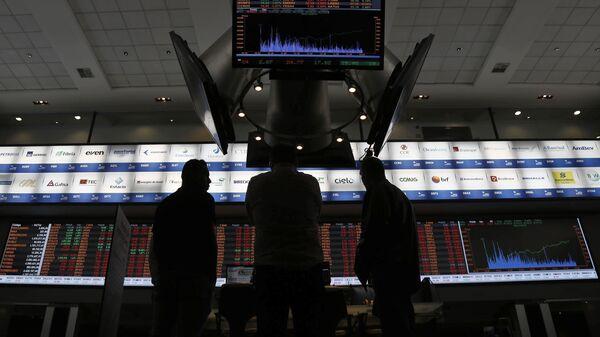La Bolsa de Sao Paulo la segunda más afectada de Latinoamérica por auge del dólar en 2015 - Sputnik Mundo