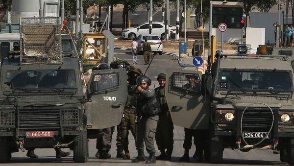 Fuerzas de seguridad israelíes - Sputnik Mundo