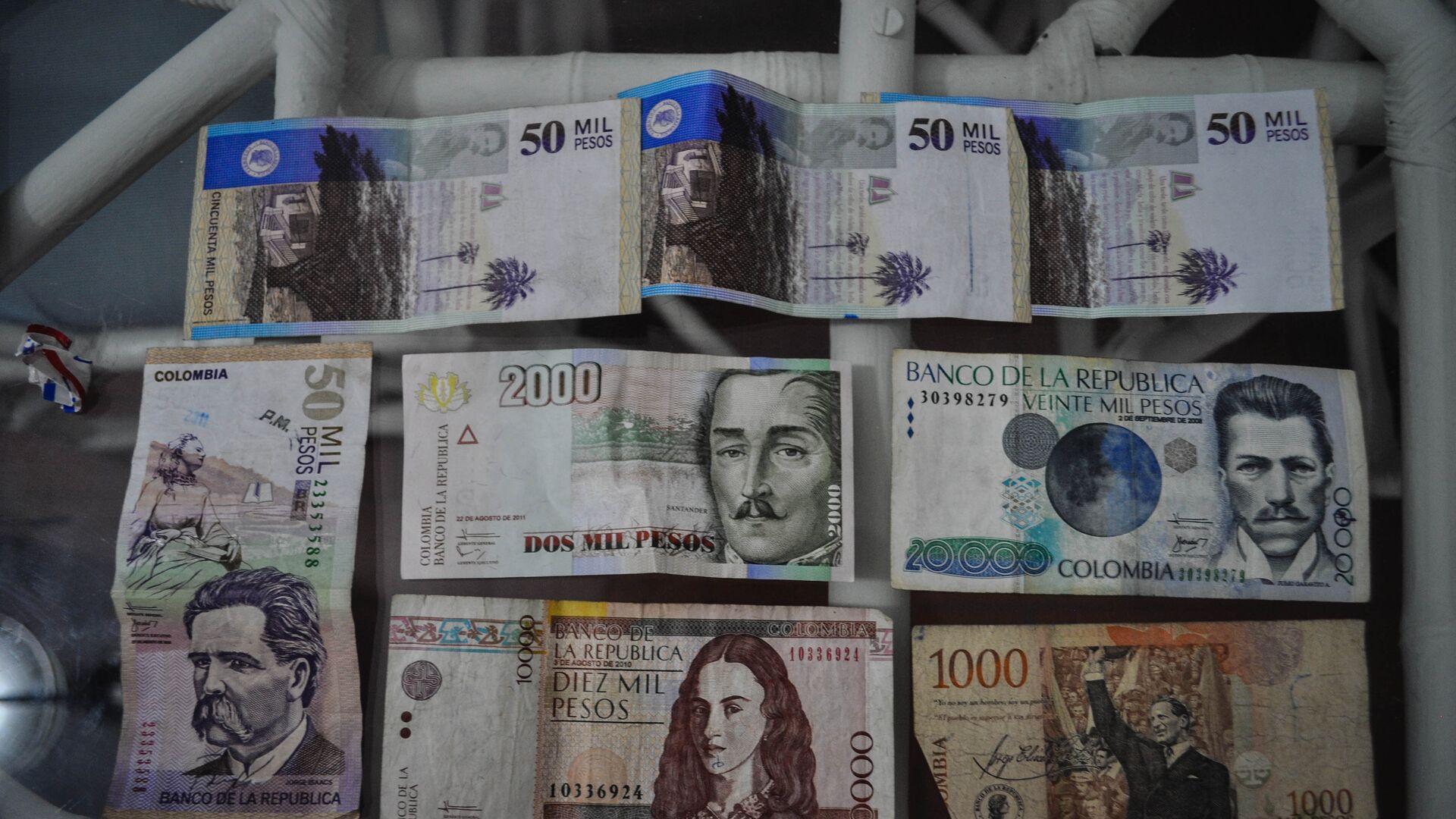 Pesos colombianos - Sputnik Mundo, 1920, 29.09.2021