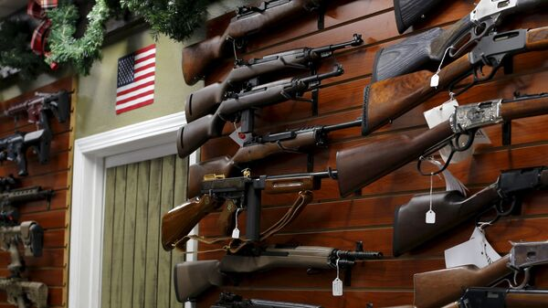 Tienda de armas en EEUU - Sputnik Mundo