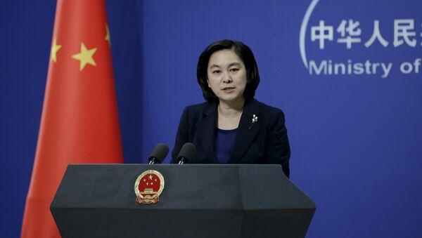 Hua Chunying, portavoz de la Cancillería china - Sputnik Mundo