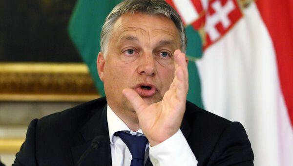 Viktor Orban, primer ministro de Hungría - Sputnik Mundo