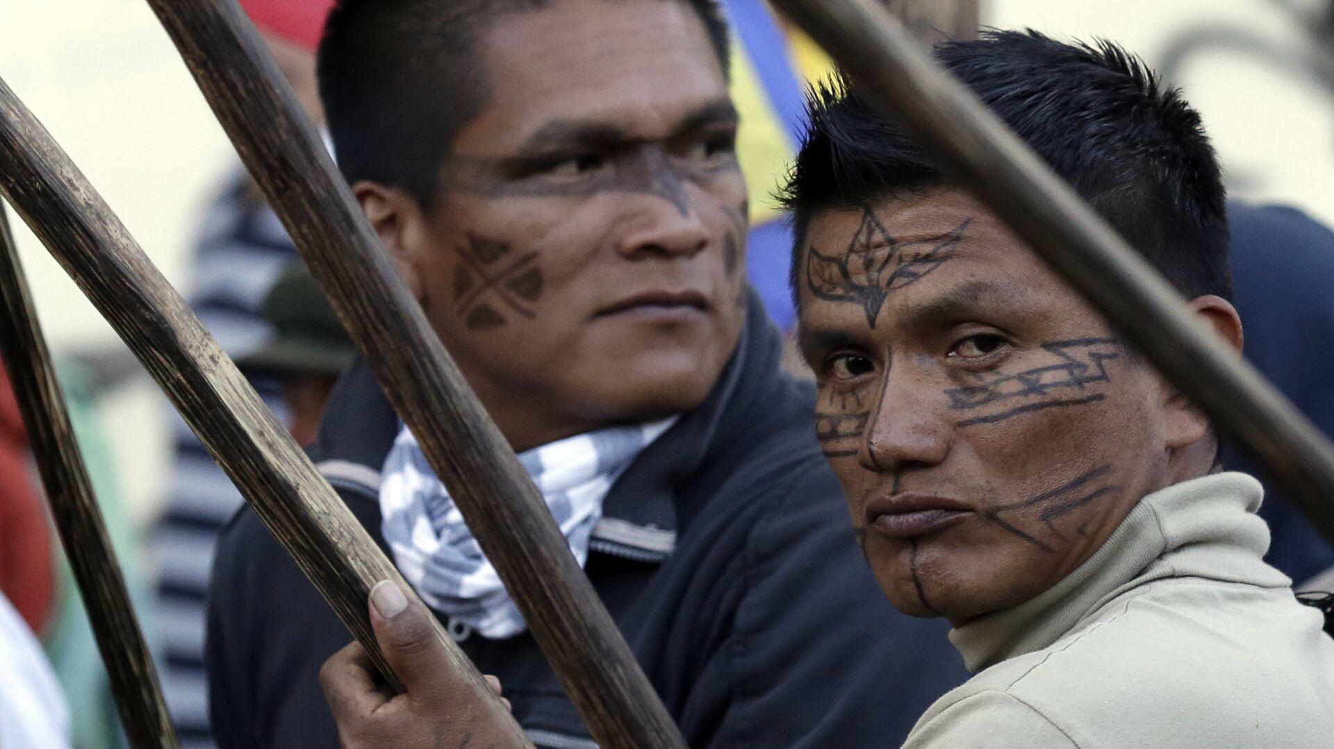 Indígenas de Ecuador (archivo) - Sputnik Mundo, 1920, 13.10.2021