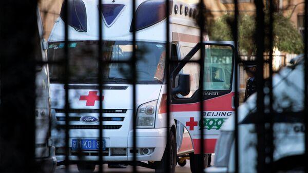 Una ambulancia china - Sputnik Mundo