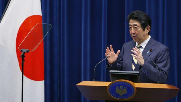 Shinzo Abe, el primer ministro de Japón - Sputnik Mundo