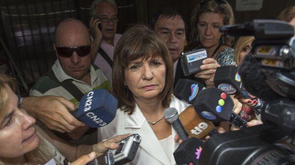 Patricia Bullrich, la ministra de Seguridad de Argentina - Sputnik Mundo