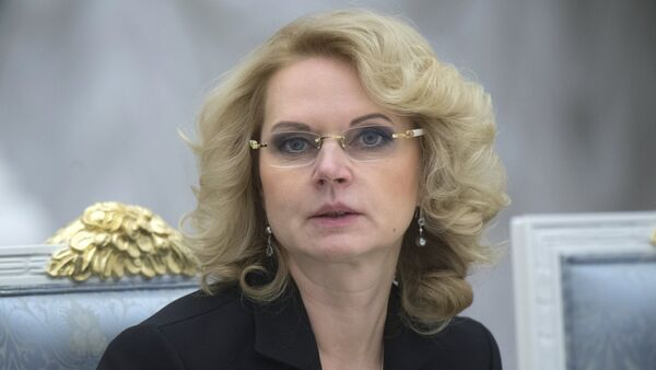 Tatiana Gólikova, presidenta de la Cámara de Cuentas de Rusia - Sputnik Mundo