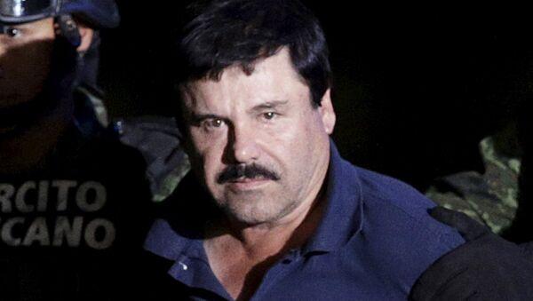 Joaquín 'el Chapo' Guzmán, jefe narcotraficante de México - Sputnik Mundo