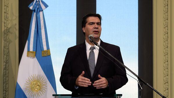 Jorge Capitanich, vicepresidente del Partido Justicialista (PJ) - Sputnik Mundo