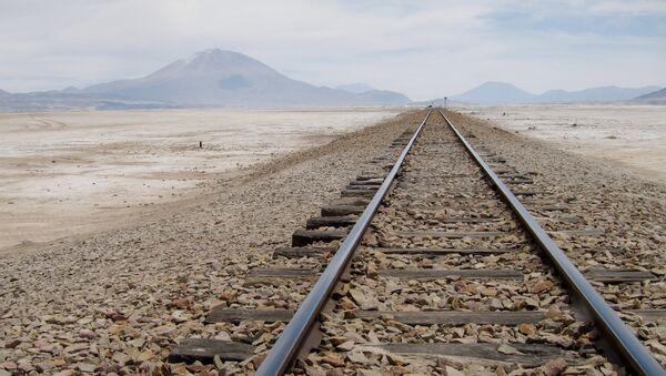 Ferrocarril en Bolivia (Archivo) - Sputnik Mundo
