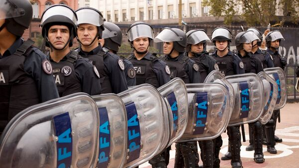 Policía de Argentina - Sputnik Mundo