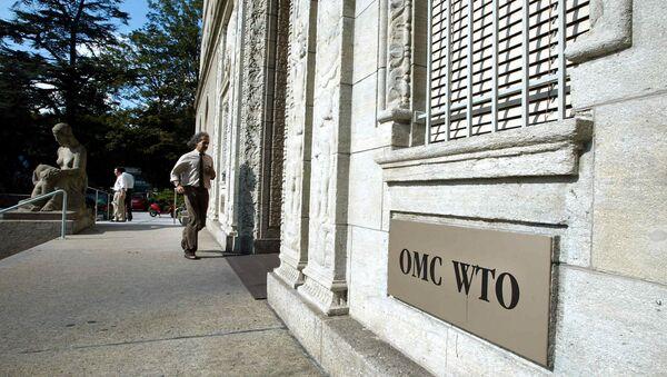 Sede de la OMC en Ginebra, Suiza - Sputnik Mundo