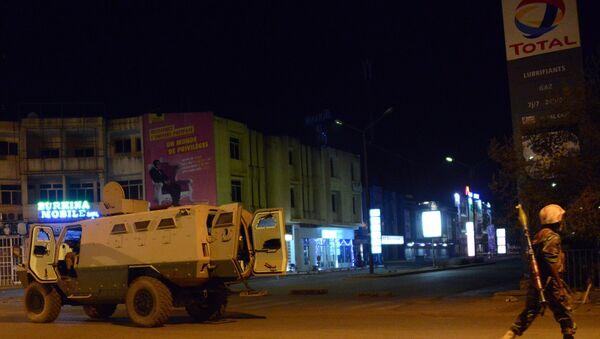 Ataque a hotel en Burkina Faso - Sputnik Mundo