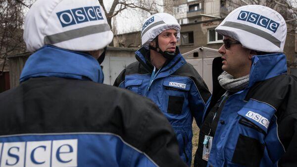 Observadores de OSCE - Sputnik Mundo