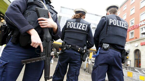 Policía alemana - Sputnik Mundo