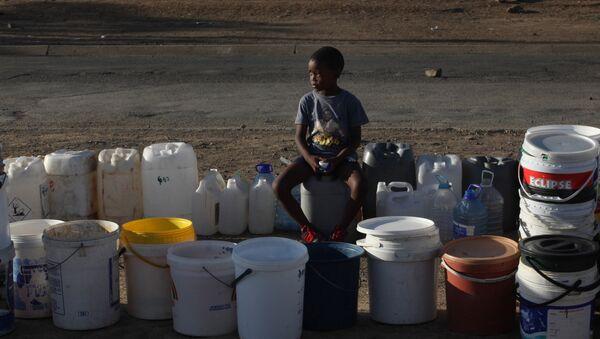 Sequía en el sur de África - Sputnik Mundo