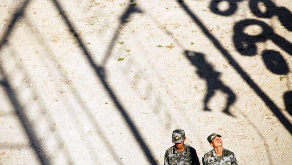 Militares del Ejército Popular de Liberación de China - Sputnik Mundo