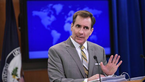 John Kirby, portavoz del Departamento de Estado - Sputnik Mundo