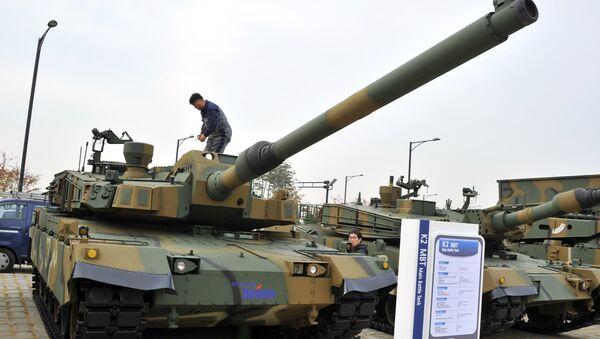 Tanque surcoreano K-2 Black Panther - Sputnik Mundo