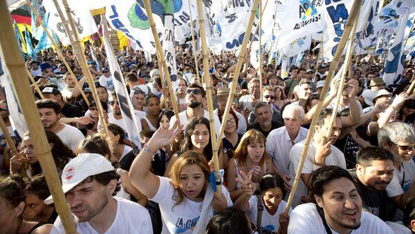 Activistas exigen liberación de Milagro Sala - Sputnik Mundo